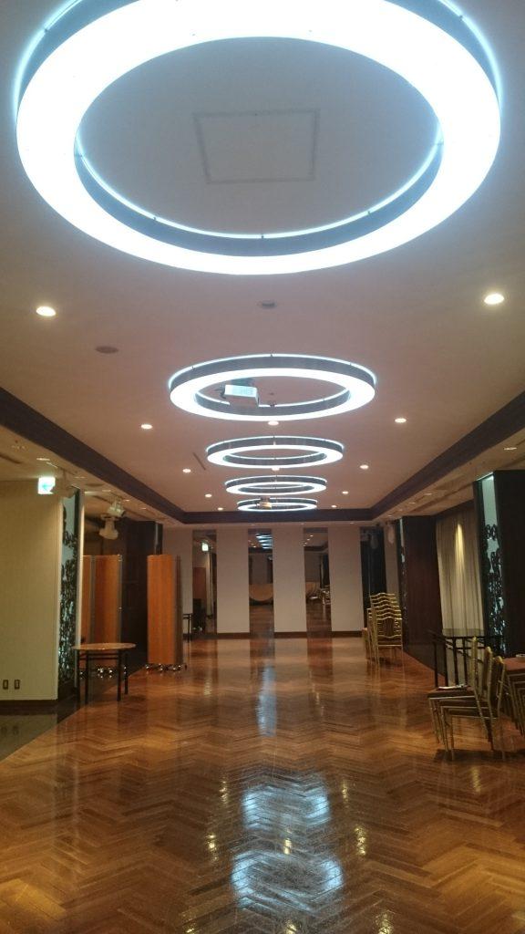 LED演出天井照明